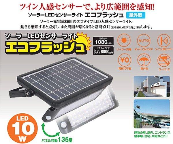 画像1: ソーラーLEDセンサーライト (1)