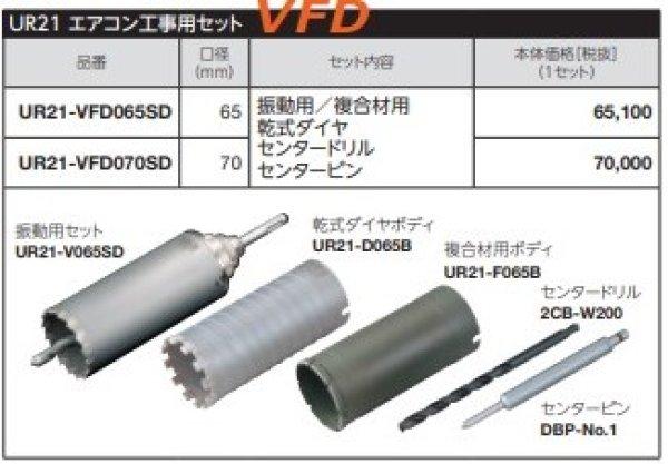 画像1: UR21替刃式 65φ(70)3種類 特別セット品P7-1404 (1)