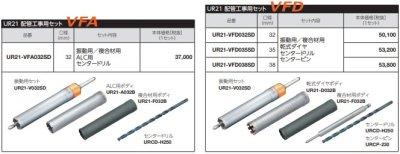 画像3: UR21替刃式 65φ(70)3種類 特別セット品P7-1404